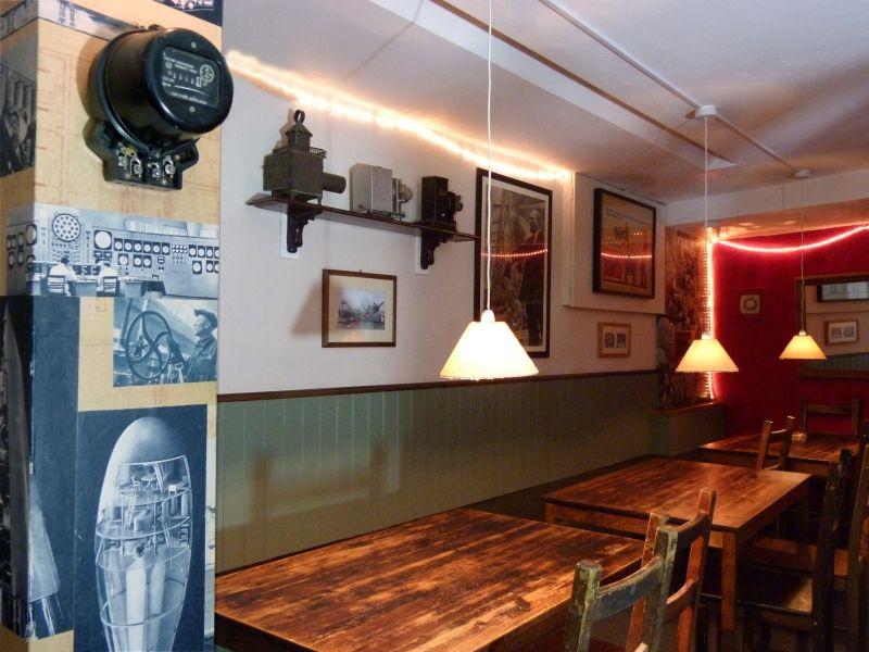 Inside Little Georgia in Hackney (interior shot)